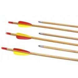 Flechas de Madera 28 Pulgadas