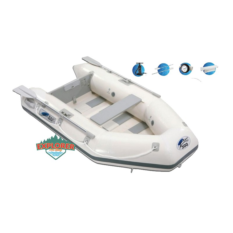 gomon inflable z ray ii 300 explorer pro shop