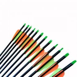 Flechas Fibra de Vidrio 30 Pulgadas
