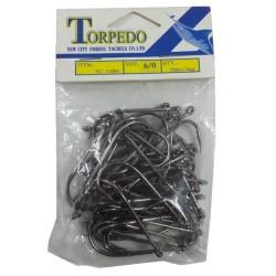 Anzuelo Torpedo NC15004 N°6/0