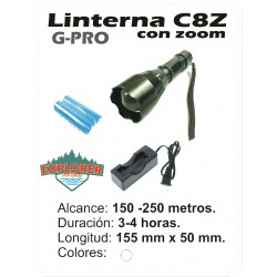 Linterna G-PRO C8Z