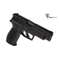Pistola Saigo Defense Modelo 226 Polimero Green Gas