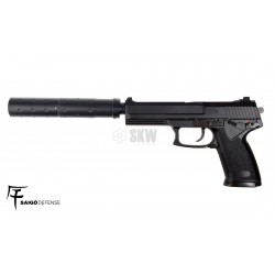 Pistola Saigo Defense 23 Socom Polimero Green Gas