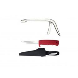 Pinza saca anzuelo y cuchillo fileteador Aquafishing