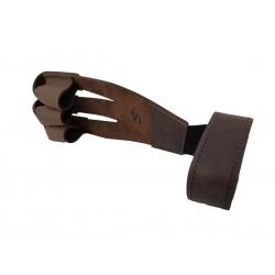 Protector de dedo en cuero