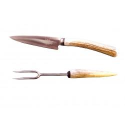 Cuchillo + Pincho Venado 531141p Hoja 14cm