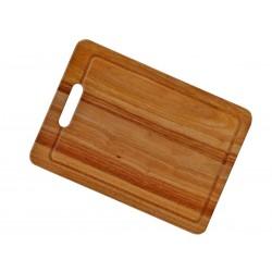 Tabla para picar en bambú con canaleta