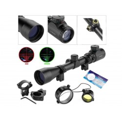 Mira Riflescope Reticulo iluminado 3-9x40