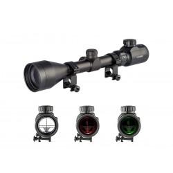 Mira Riflescope Reticulo iluminado 3-9x50