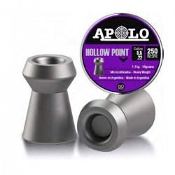 Chumbos Apolo Premium Hollow Point 5.5mm x 250un