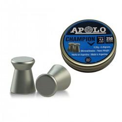 Chumbos Apolo Champion 4.5 X 250un Tiro
