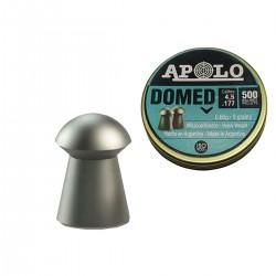 Chumbos Apolo Domed 4.5 X 500un Tiro Caza